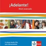 Bild von Adelante! Nivel avanzado Lehrer Audio-CD's