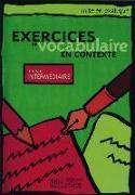 Bild von Niveau intermédiaire: Exercices de vocabulaire en contexte