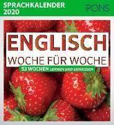 Cover-Bild zu PONS Sprachkalender 2020 Englisch Woche für Woche