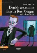 Bild von Double assassinat dans la Rue Morgue et La lettre volée. Buch + Audio-CD von Poe, Edgar Allan