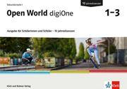 Bild von Open World digiOne 1-3 Ausgabe für Schülerinnen und Schüler. 10 Jahreslizenzen