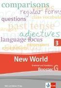 Bild von New World 3 Grammar and Vocabulary Booster G
