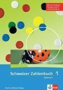 Bild von Schweizer Zahlenbuch 1 Arbeitsheft mit Arbeitsmitteln und Zugang zum Blitzrechnen digital
