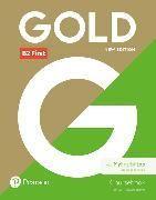Bild von New Gold First NE 2018 Coursebook and MyEnglishLab (MEL) pack von Bell, Jan